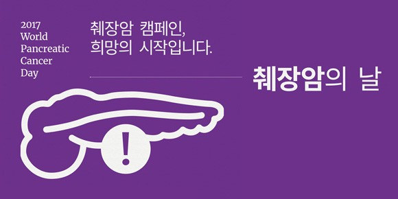 '17 World Pancreatic Cancer Day Korea
